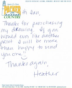 Note from Heather Kober
