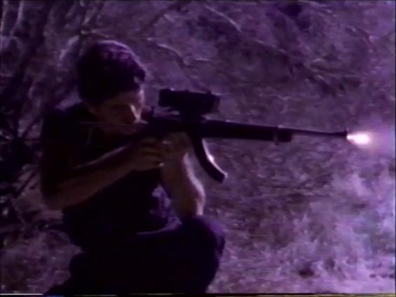 Wild Man Lightning rifle
