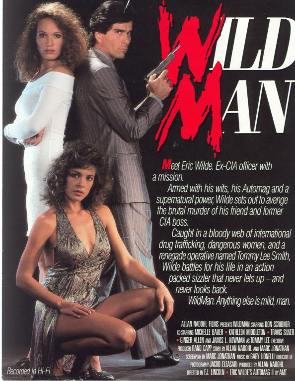 Wild Man back cover