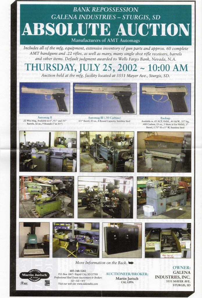 Galen industries auction