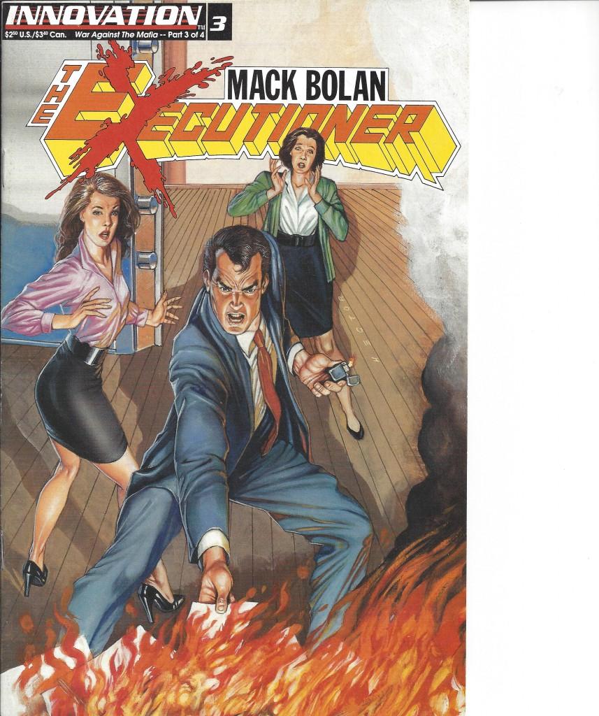 Don Pendleton's The Executioner Comic V3